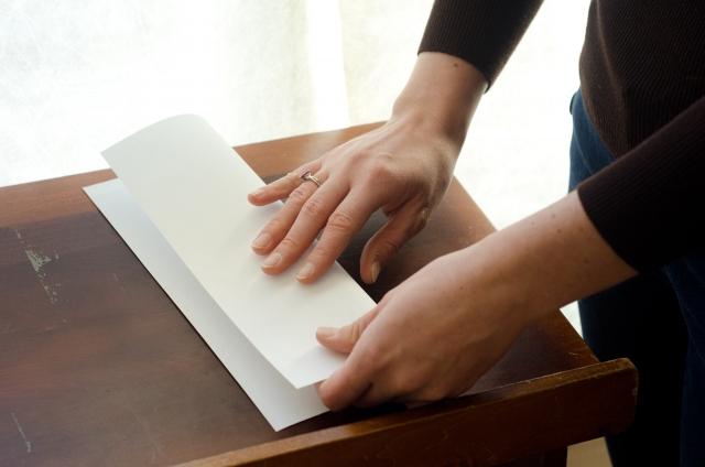 長形封筒の用途について